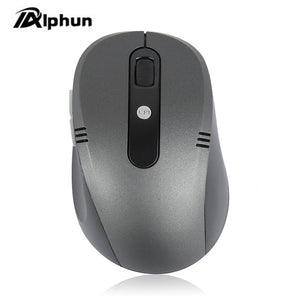 Alphun 6 Key Gaming Mouse 2.4GHz 1600DPI Optical Wireless Mouse USB Receiver