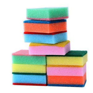 10PC Magic Sponge Brush Cleaning Sponges