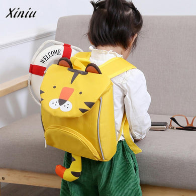 Xiniu Quality Children Boys And Girls Kids Backpacks Cartoon Animal