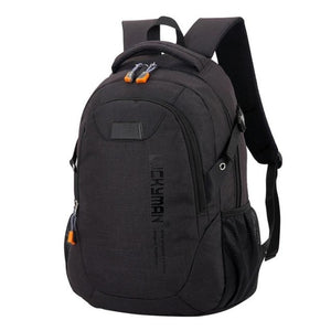 Backpack Canvas Unisex Laptop Bag