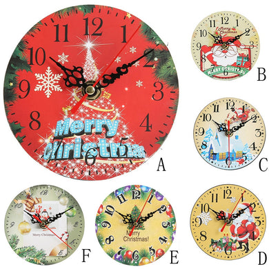 Silent Sweep Christmas Clock
