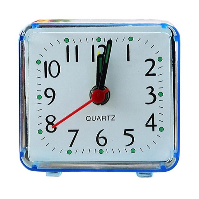 4 Colors Quartz Needle Silent Beep Desk Alarm Clock