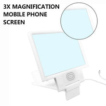 3D 8.5 inch Universal Cell Phone Screen Magnifier Projector Enlarged Amplifier with Speaker Adjustable Holder Stand