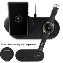 Fast Wireless Charging Charger Pad Dock Holder for Cell Phones