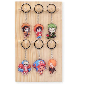 NEW One Piece Keychains