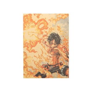 One Piece Ace 51x36cm Poster