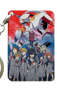 Rectangular Darling In The Franxx Keychains