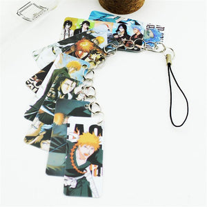 8 Pc Bleach Pvc Card Keychains