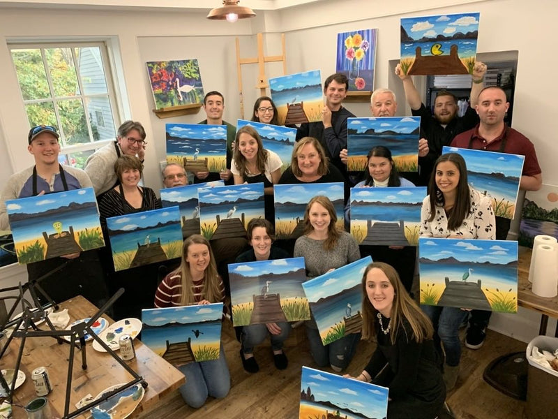 Host your next event at Essex Paint and Sip