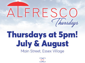 Alfresco Thursdays have been extended!