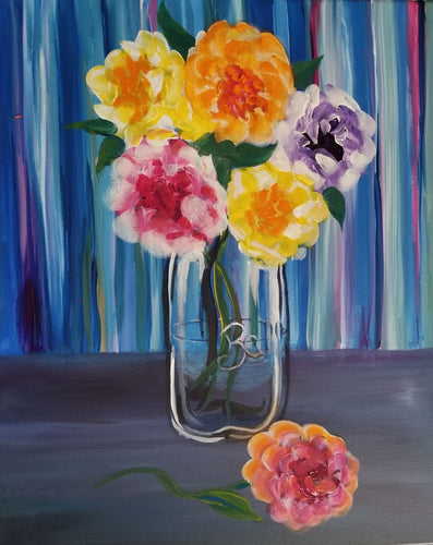 Bloom Painting - Essex Paint and Sip