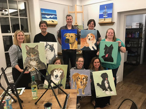 Dan Cosgrove Animal Shelter Fundraiser - Paint your Pet Night