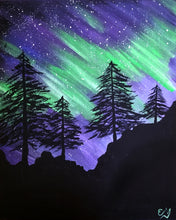 Aurora Pines Painting - Essex Paint and Sip