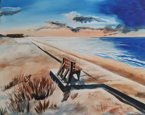 Boardwalk Memories Painting - Essex Paint and Sip