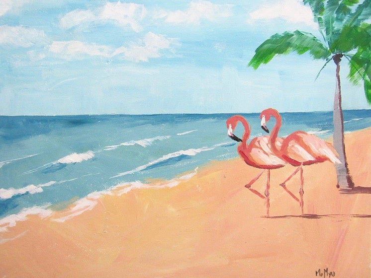 Beach Babes Painting - Essex Paint and Sip