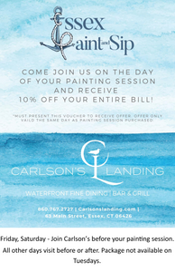 Garden Lighthouse Painting - Essex Paint and Sip