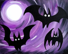Dance of the Bats Painting - Essex Paint and Sip