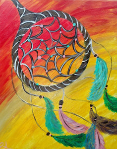 Dream Catcher Paint Night - Essex Paint and Sip