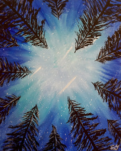 Stargazing Paint Night - Essex Paint and Sip