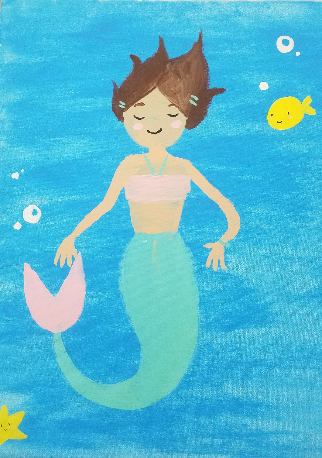 Magical Mermaid Painting - Essex Paint and Sip