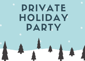 Private Holiday Party - Essex Paint and Sip