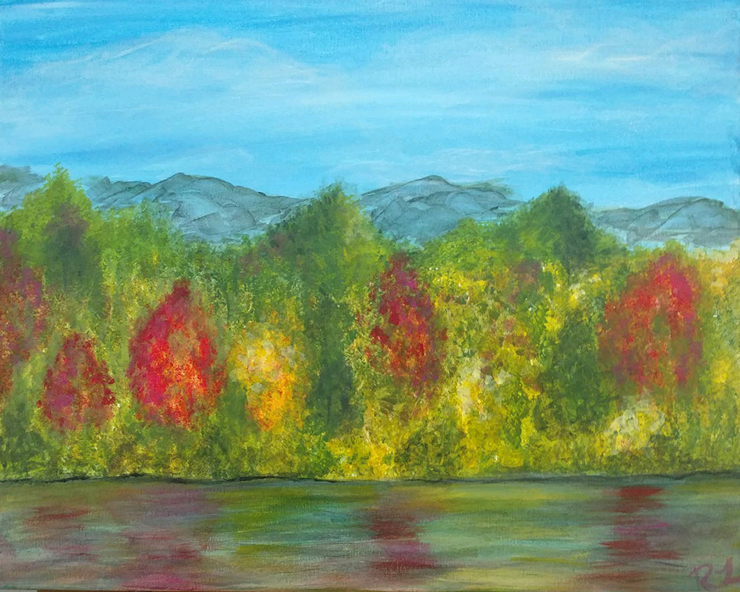 Autumn on the River Paint Night - Essex Paint and Sip
