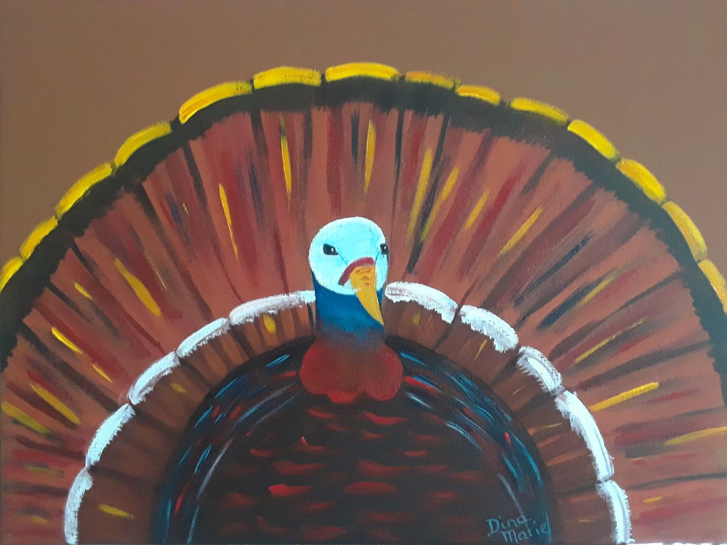 Tom Turkey Painting - Essex Paint and Sip