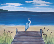 Blue Heron Paint Night - Essex Paint and Sip