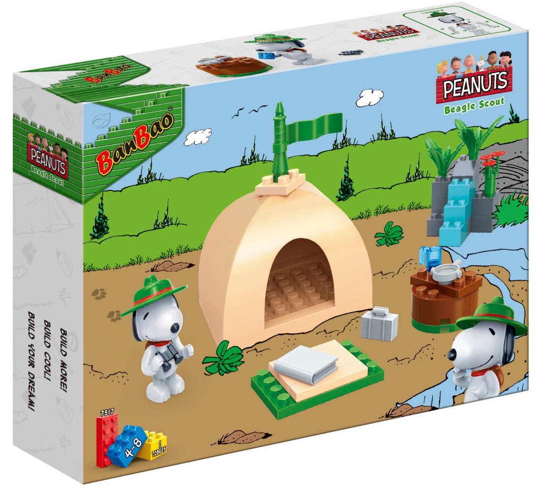 Peanuts - Beagle Scout Tent