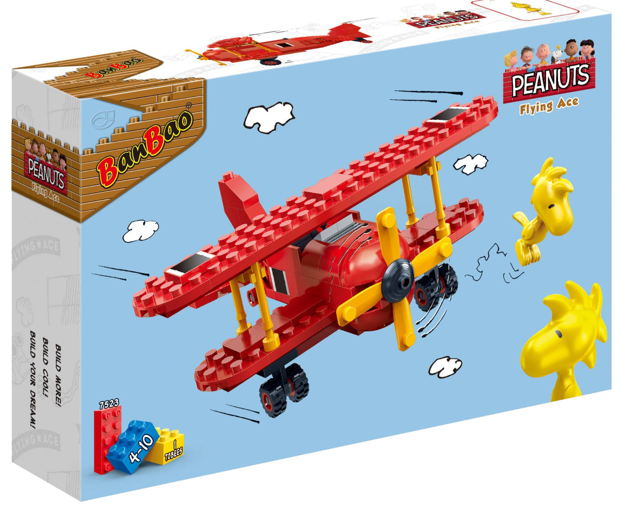 Peanuts - Flying Ace (Red)