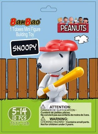 Mini Series Peanuts - Snoopy/Baseball
