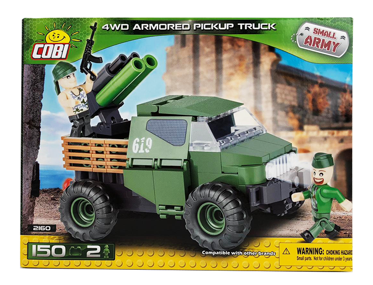 Small Army- 4WD Armored Pickup Truck