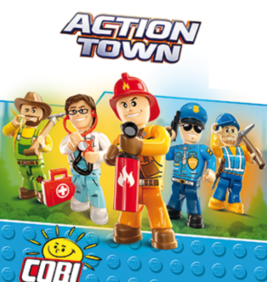 Action Town Figures