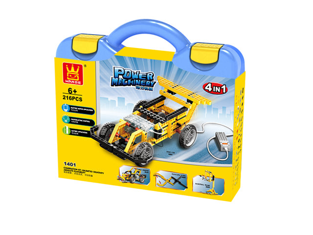 Power Machinery - Racing Car 4 in 1