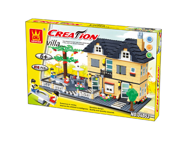 Creation-Villa House With Playground