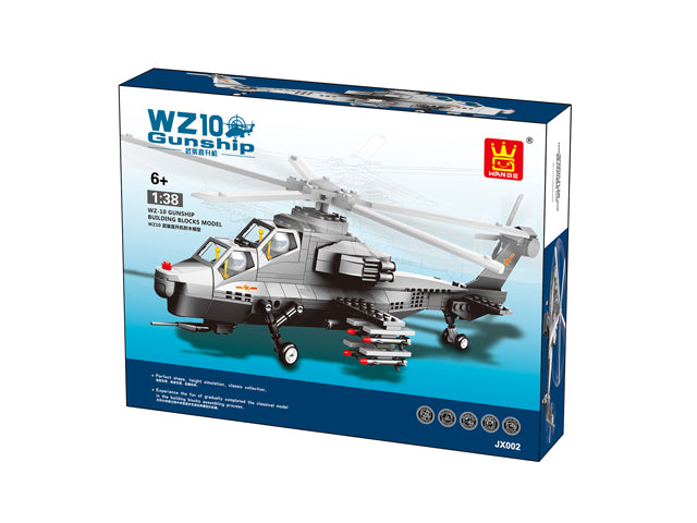 WZ-10 Fiery Thunderbolt Helicopter Gunships