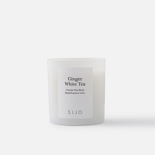 Ginger White Tea Scented Candle