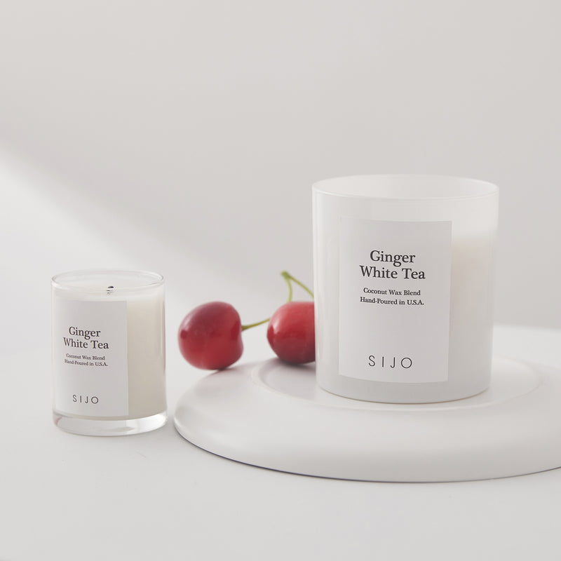 Ginger White Tea Candle