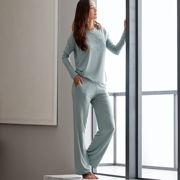Eucalyptus Long Sleeve Classic Set