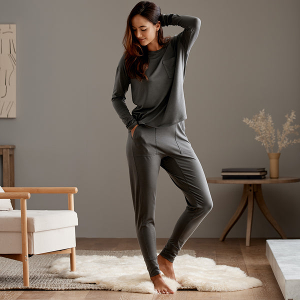 Eucalyptus Long Sleeve Jogger Set