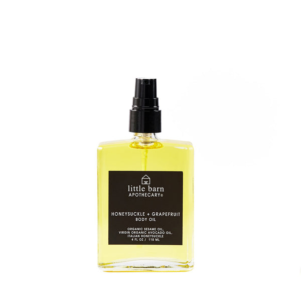 Honeysuckle + Grapefruit Body Oil
