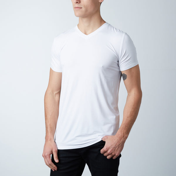 Bamboo Undershirt V Neck