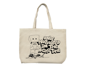 Grimey x Only Motivated Tote Bag