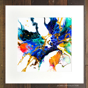 Connection iii 24K Gold Embellished Archival Print