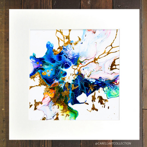 Connection ii  24K Gold Embellished Archival Print