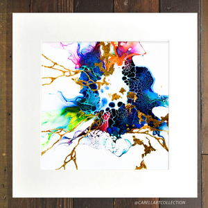 Connection iv 24K Gold Embellished Archival Print