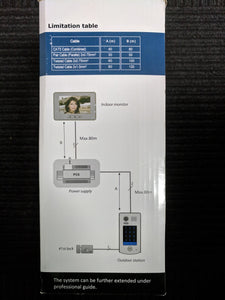 2-Wire Video Intercom w. Proximity Reader Kit [FVI-6010]