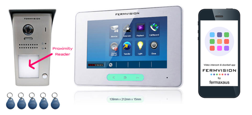 2-Wire IP App Video Intercom w. Proximity Reader Kit [FVI-6010APP]