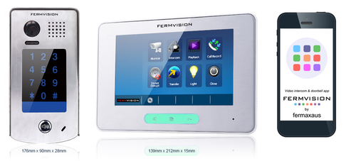2-Wire IP App Video Intercom w. Keypad Kit [FVI-6020APP]