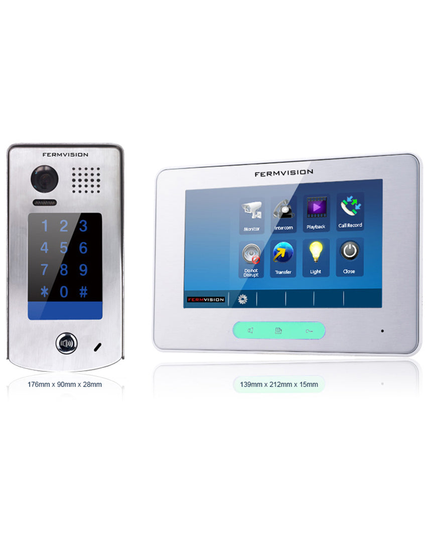 2-Wire Video Intercom w. Keypad Kit [FVI-6020]